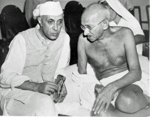 nehru-ghandi2
