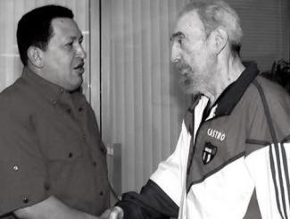 Fidel Castro, pictured with Venezuelan President Hugo Chavez on October 12.